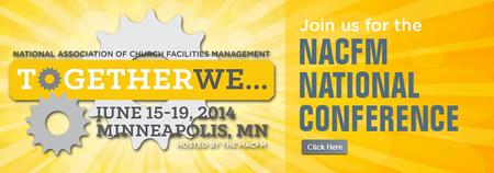 """NACFM 2014 """"TOGETHER WE..."""" Vendor Sponsorship"""