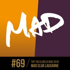 MAD CLUB, LAUSANNE - INVITATIONS logo