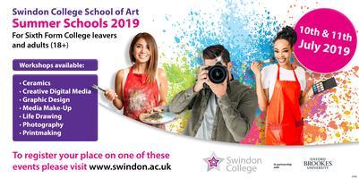 Swindon College School of Art Summer Schools