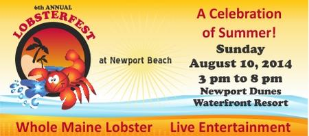 6th Annual Lobsterfest  at Newport Beach