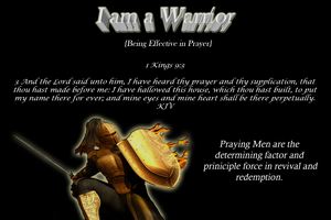 Men prayer conference