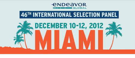 Endeavor 46th International Selection Panel