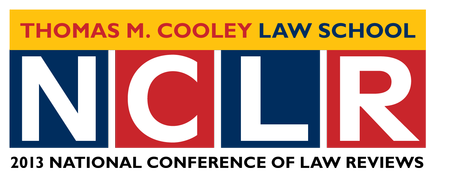 NCLR at Thomas M. Cooley Law School March 20-24, 2013