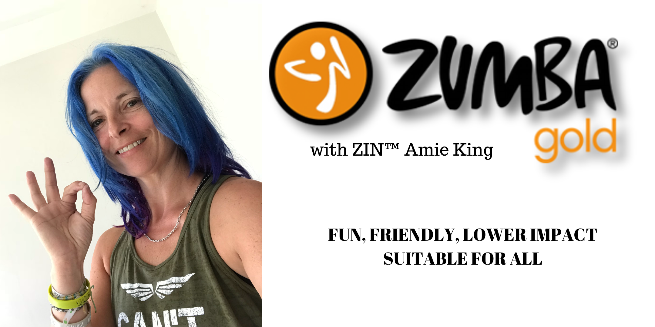 SUSPENDED UNTIL FURTHER NOTICE - Wednesday - 10 am - 11 am - Zumba Gold® with ZIN™ Amie King - Almondsbury Creative, Almondsbury