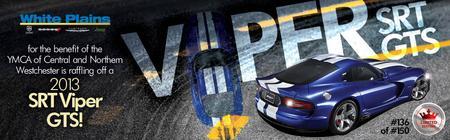 SRT Viper GTS raffle
