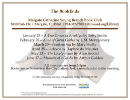 The BookEnds - Margate Book Club