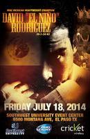 Boxing David El Nino Rodriguez
