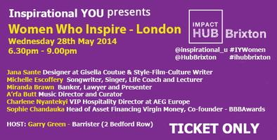 Women who inspire (London) - Inspirational YOU