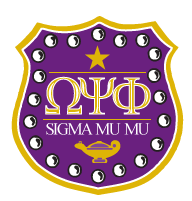 Omega Psi Phi Fraternity Inc., Sigma Mu Mu Chapter, Loudoun County, Virginia logo