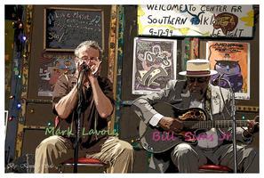 Bill Sims Jr. & Mark LaVoie - Blues @ Center for...