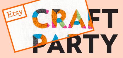Etsy Craft Party 2014 : Paris