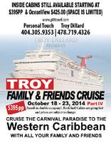 TROY - FAMILY & FRIENDS CRUISE PART IV
