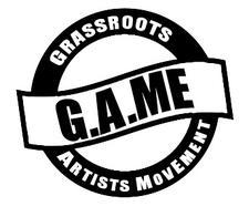 Grassroots Artists MovEment (G.A.ME) logo