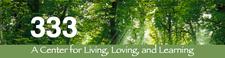 333: A Center for Living, Loving & Learning logo