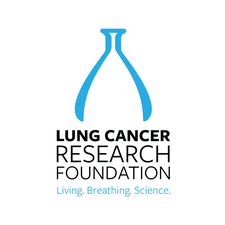 The Lung Cancer Research Foundation logo