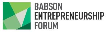 Babson Entrepreneurship Forum 2012