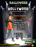 Halloween Meets Hollywood: Dance Fitness Party w/...