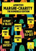 APERITIVO Marghe Charity - The RomeHello Edition!