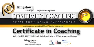 Certificate in Coaching