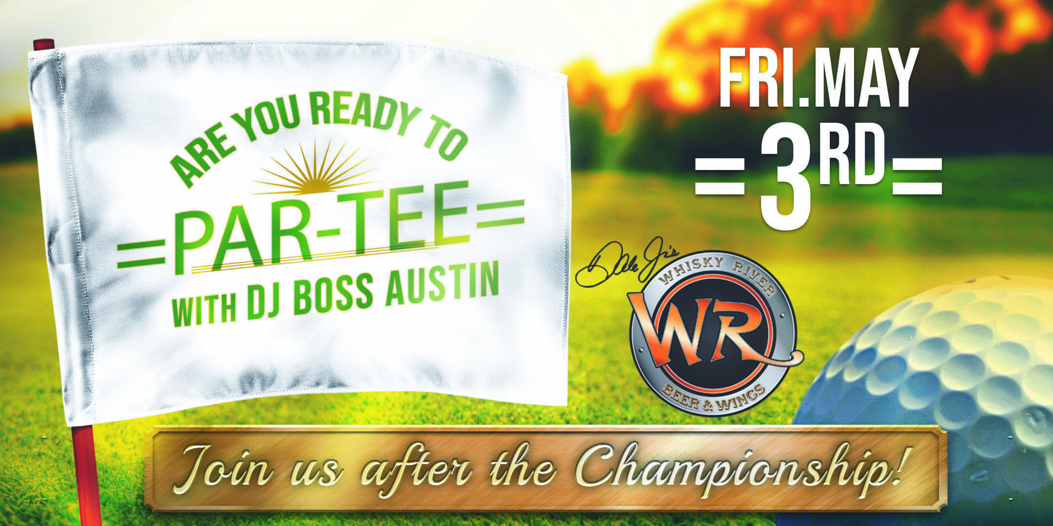 Are You Ready To Par-Tee?