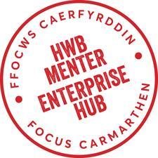 Hwb Menter Ffocws Caerfyrddin | Focus Carmarthen Enterprise Hub logo