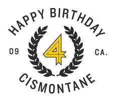 Cismontane Brewing Co. 4th Anniversary
