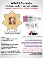 WINGS Curriculum Professional Development Institute -...