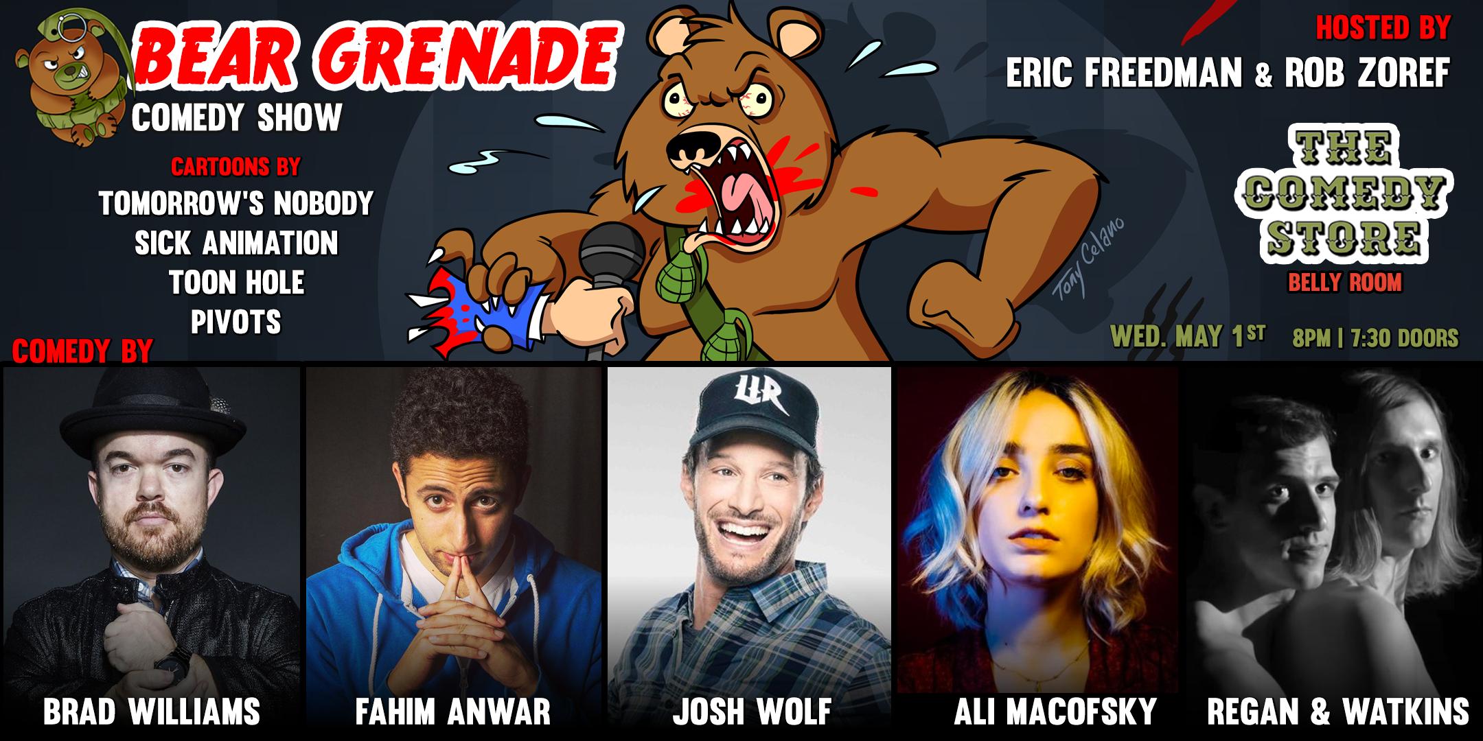 Bear Grenade Comedy Show