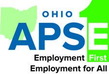 Ohio APSE (Association of People Supporting Employment First) logo