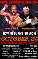 ACW: HORROR BUSINESS 2012
