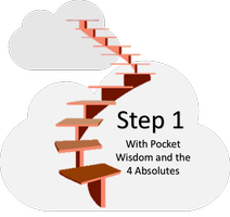 The 12 Step + Pocket Wisdom and The 4 Absolutes Series