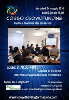 Corso Crowdfunding. Impara a finanziare idee con la...