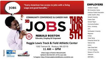 3rd Annual Jobs Rebuild Boston: Community Conference...