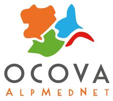 OCOVA AlpMedNet logo
