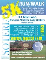 2nd Annual Soteria 5K