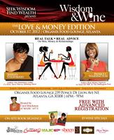 "Wisdom & Wine Wednesdays -  ""The Love & Money Edition"""