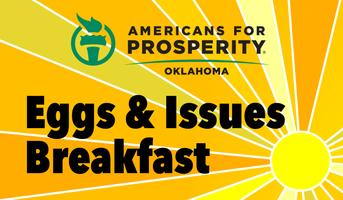 "AFP-OK Central Oklahoma ""Eggs & Issues"" Breakfast"