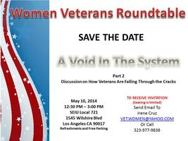 Women Veterans Roundtable - Void in the System