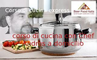 Corso di cucina express - con Chef Andros a Domicilio