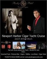 Rocky Patel Luxury Cigar Yacht Cruise of Newport Balboa...