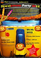 Diwaloween (Diwali-Halloween Bollywood)Night- the Scariest...