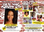 YWCA & Tony Cosby Presents Youth Want Comedy Also