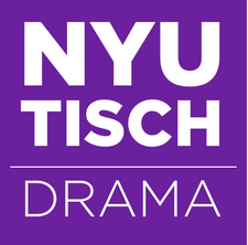 NYU, Tisch School of the Arts, Department of Drama logo