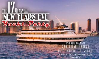 New Years Eve Yacht Party - San Diego Tickets, Tue, Dec 31