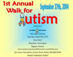 Walk for Autism San Juan County