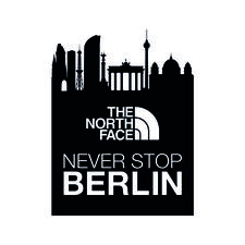 The North Face - Never Stop Berlin logo