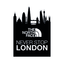 The North Face - Never Stop London logo