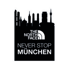 The North Face - Never Stop München, Germany logo