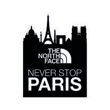 The North Face - Never Stop Paris logo