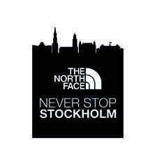 The North Face - Never Stop Stockholm logo